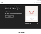 Marine Law and Policy for Scientists and Managers