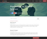 Psychology as a Social Science