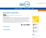 Natural Resources Biometrics