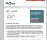 Module 9: Why OER Matters