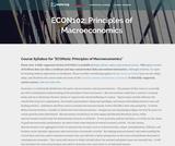 ECON102: Principles of Macroeconomics