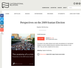 Perspectives on the 2009 Iranian Election