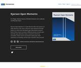 Ryerson Open Moments