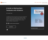 A Guide to Making Open Textbooks with Students