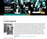 Great Writers Inspire: F. Scott Fitzgerald