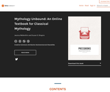 Mythology Unbound: An Online Textbook for Classical Mythology