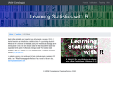 Learning Statistics with R: A tutorial for psychology students and other beginners