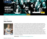 Great Writers Inspire: Jane Austen