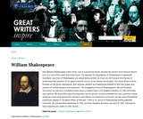 Great Writers Inspire: William Shakespeare