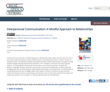 Interpersonal Communication: A Mindful Approach to Relationships