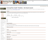 ConcepTest: Earth Timeline - the fossil record