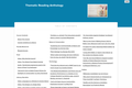 Thematic Reading Anthology