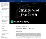 Cosmology and Astronomy: Structure of the Earth