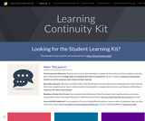 Learning Continuity Kit