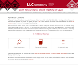 LLC Commons: Open Resources for Online Teaching in Slavic