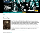 Great Writers Inspire: James Joyce