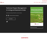Technical Project Management in Living and Geometric Order: A Practical Perspective