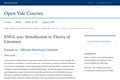 ENGL 300 - Lecture 21 - African-American Criticism