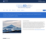 Plate Tectonics and People: Foundations of Solid Earth Science
