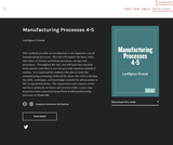 Manufacturing Processes 4-5