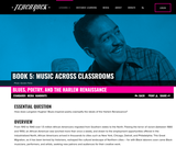 Book 5, Music Across Classrooms: English Language Arts. Chapter 8, Lesson 1: Blues, Poetry, and the Harlem Renaissance